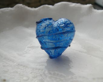 Venetian Murano Glass Heart