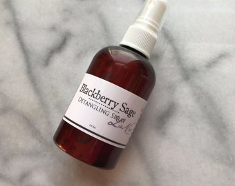 Detangling Spray Organic Ingredients Herbal Infused Condition Detangle Add Shine Choose Scent
