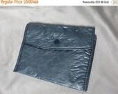 Spring Fling SALE Vintage 50s Lingerie Bag Plastic Stockings 1950s Organizer 50s Rockabilly Travel Pockets