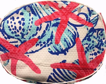 BERMUDA BAG COVER She She Shells for Ladies 4 button Bermuda bags Read Description Below