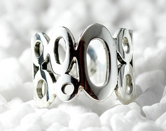 Unique Silver Ring 925 Delicate Sterling Rings for Women