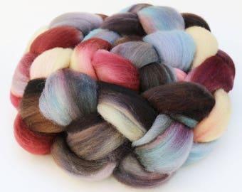 "Polwarth Wool Spinning Fiber, 4 oz, ""Provincial"""