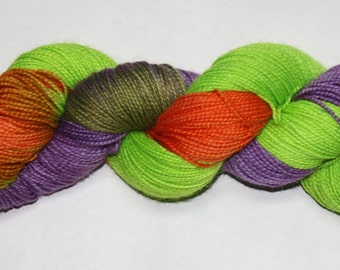 Wizard Wheezes' Hand Dyed Sock Yarn