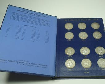 Ben Franklin Circulated Half Dollars - The Complete Collection - 1948 - 1963