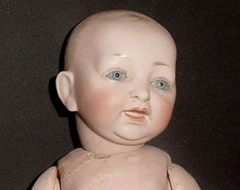 Antique Baby Doll - Kestner Solid Dome Socket Head Baby - Comp Body -Darling Doll