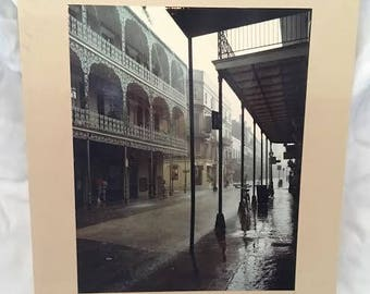 "New Orleans photograph ""Royal Street in the Rain"" by Jack Beech - Southern photography Mardi Gras"