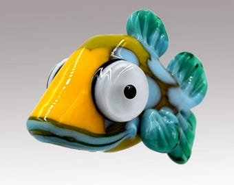 Aardvark's PEPPY The Shovelnose Fish Bead RESERVED  for Adrienne