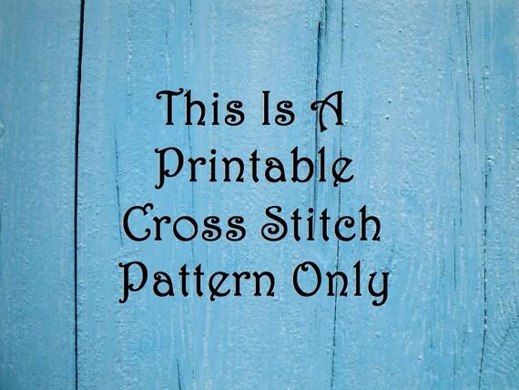 Floral Wreath Cross Stitch Pattern Free