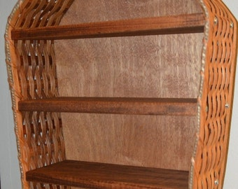Amish Handmade Small Nautical Boat Shelf