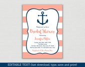 Nautical Bridal Shower In...