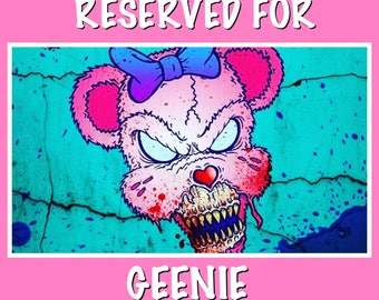 RESERVED FOR GEENIE