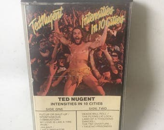 Ted Nugent Intensities in 10 cities Cassette Tape