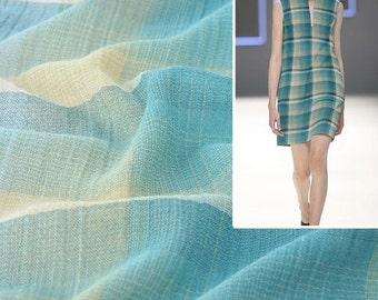 4455 - Gingham Yarn-Dyed Cotton Fabric - 59 Inch (Width) x 1/2 Yard (Length)