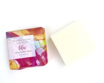 Guest Soap  | 2 oz Petite Shea Butter Soap | Lavender | Lilac | Wild Rose | Sandalwood | Sea Breeze | Honeysuckle |