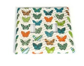 Double Butterfly Light Switch Cover  Wall Decor Switchplate in  Papillons  (119D)