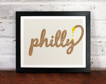 Philly Pretzel: 8x10 Archival Art Print