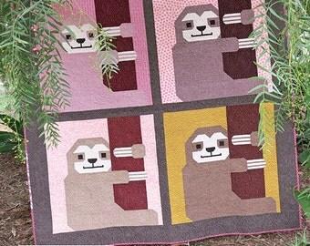Sleepy Sloth - Pattern by Elizabeth Hartman (EH 033)