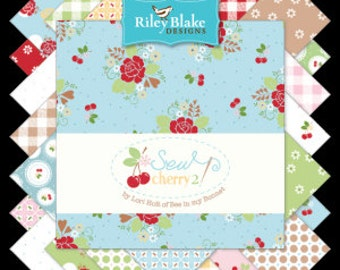 Preorder - Sew Cherry 2 by Lori Holt - yard Bundle - Complete set