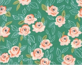 Sugar Pie (5040 14) Teal Wildest Rose by Lella Boutique