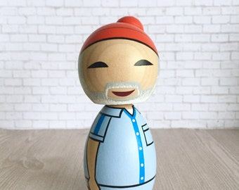 Kokeshi doll Steve Zissou The Life Aquatic