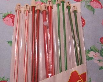 collection of susan bates knitting needles