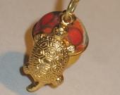 Good Luck Long Life Turtle Amulet Omamori Charm