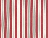 Fabric Sale! Varsity - Red Stripe Print Fabric