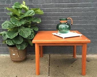 Danish Modern Teak Side Table (2 Available)