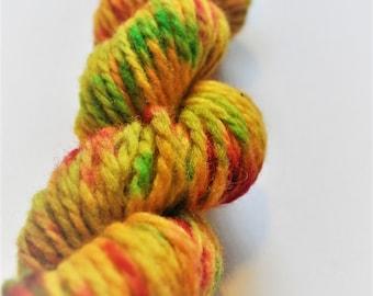 Marigold. Handpainted Wool Yarn