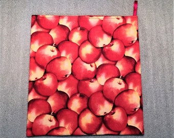 RED APPLES MICROWAVE Potato Bag for kitchen
