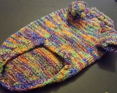 Beautifully Warm Hand knitted Dog Jumper