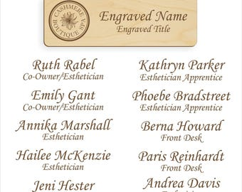 Name badge order for Ruth