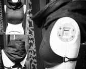 BREETVA Halter Top - Women Women's tieback black linen lightweight top for layer layering layered look