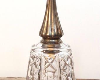 Vintage Crystal Bell