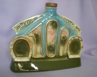 Vintage Kentucky Derby Decanter-100th Kentucky Derby Anniversary-1974 Kentucky Derby