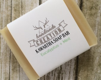 Eucalyptus Mint Artisan Soap - Bath & Body - Handmade Soap - Natural Soap - Eucalyptus Soap - Peppermint Soap