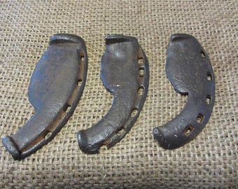 Cast Iron Antique Oxen Shoes-