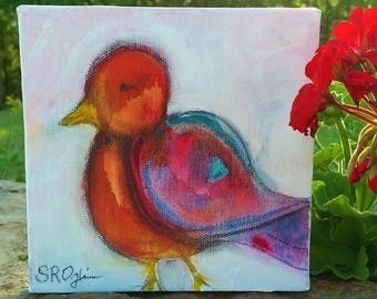Spring Bird, Original Painting