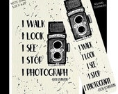 Photographer Bookmark-Photographer Quote, Photographer Note Card