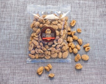 Pure Vermont Maple Peanuts 3 packs of 3 oz.  Perfect Easter Treat (especially for Dads) FREE SHIPPING