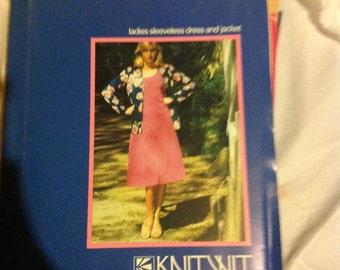 Vintage Uncut Knitwit Pattern 3700