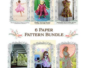 Bundle and Save! 6 PRINTED Sewing Pattern Collection