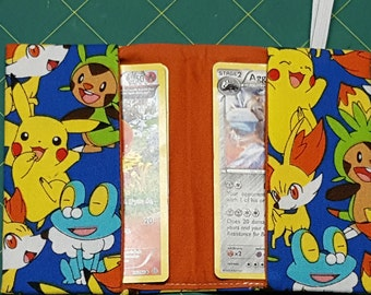 Trading Card Keeper Sewing Pattern: Pokémon Card Holder, Wallet