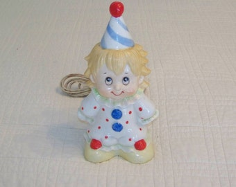 1980 Night Light Clown