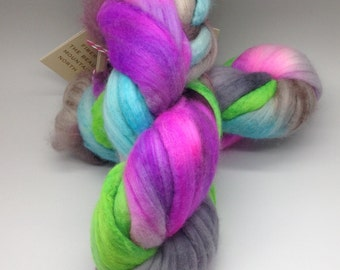 Hand painted Merino Cashmere 2 ounces