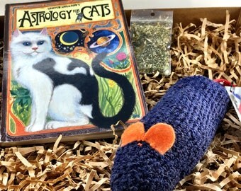 Cat Book, Astrology for Cats, Cat Toy, Human Book, Deal, Combo, Marvelous Melissa, darn!socks, Three Blind Mice