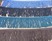 Bullion Trim Fringe Knitted 6 inch Sewing Choice Colors Quantity Length Sewing Craft  Supplies