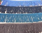 Bullion garniture franges tricoté 6 pouces couture choix couleurs quantité longueur couture Craft Supplies