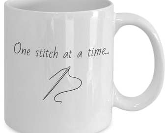 One Stitch at a Time Mug