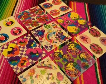 18 Vintage Lisa Frank Sticker Mods